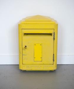 La Poste Letterbox 1990s