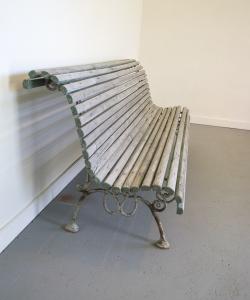 Wooden garden bench-2