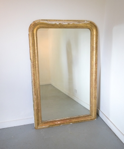 Large Gilt Mirror-1