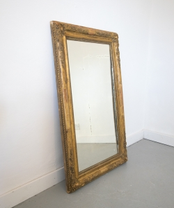 Louis XVI gilt mirror 15336-3