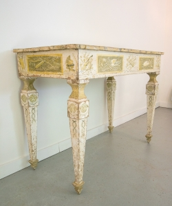 Painted Italian Console Table-6