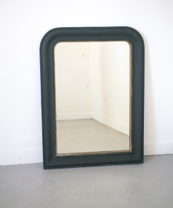 medium rounded mirror nearly black 15313-1