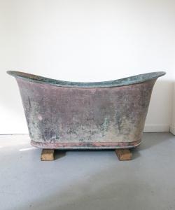 Copper bateau bath 15348-1
