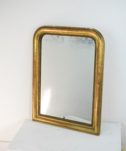 6648 Louis Philippe Gilt Mirror-1