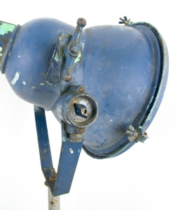 Blue Industrial Floor Lamp-4