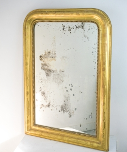 M257 Louis Philippe Giltwood Mirror-1