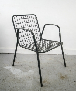 Black Metal Chairs-7