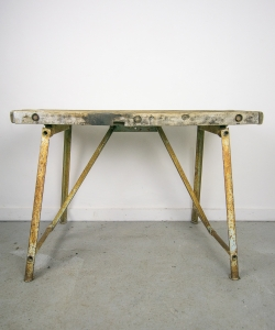 Rustic Foldable Work Table-26