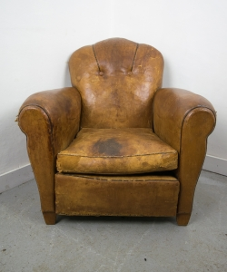 Leather Club Chair-2