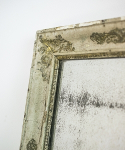 M273 Green Gilt Shabby Mirror-3