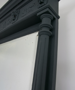 Empire style overmantel mirror-6