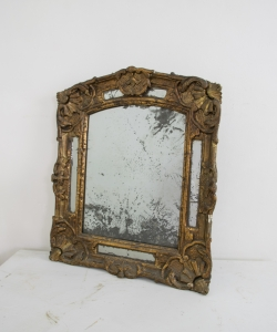 18th Century Small Giltwood mirror-2