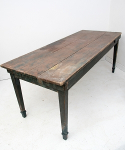farmhouse table green-1