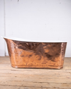 Antique Copper Slipper Bathtub-12