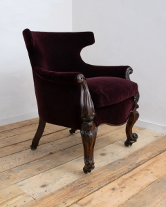 William IV library chair-4