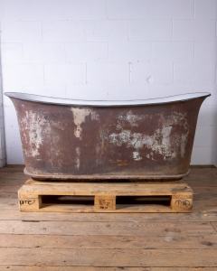Antique Cast Iron Empire Bath Rogeat