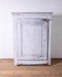 Vintage French Painted Cabinet-2