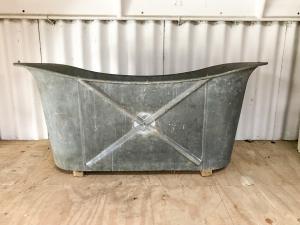 Zinc bateau bathtub-2
