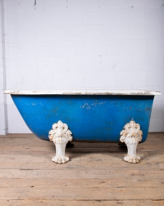 Antique Cast Iron Bath-5