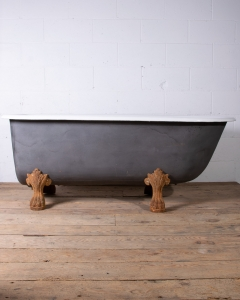 Antique Cast Iron Lionfoot bathtub-2