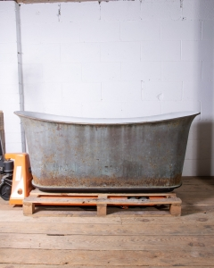Antique Cast Iron Rogeat bathtub-7
