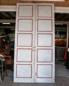 Antique French Shutter Doors-2