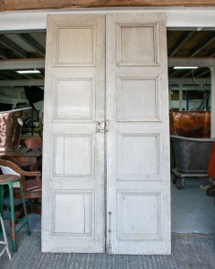 Antique French Shutter Doors