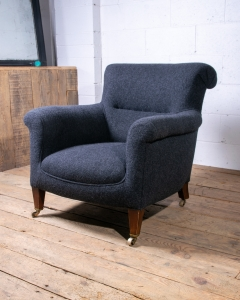 Howard style easy armchair