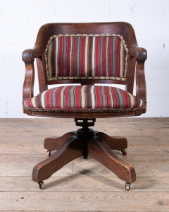 Vintage Captains Desk Office Chair