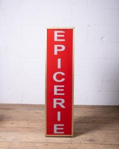 Vintage Epicerie Sign-2