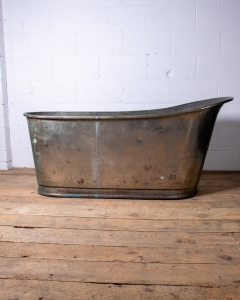 Antique Copper Slipper Bathtub