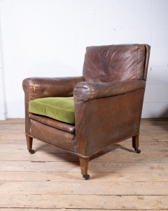 Leather Club Armchair