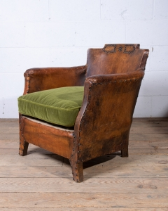 Leather Club Armchair-9