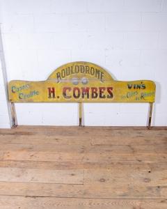 Boulodrome Sign