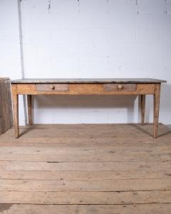 Antique farmhouse table-2