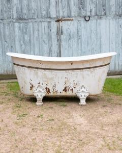 Cast Iron Bath bateau bathtub lionfeet