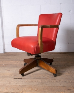 Leather Hillcrest Chair-3