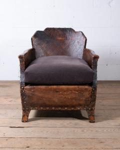 Studded club chair-2