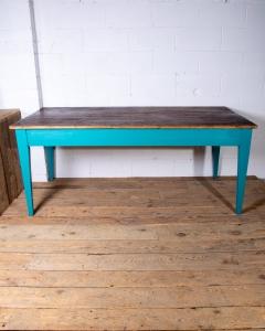 Painted Farmhouse Table-5