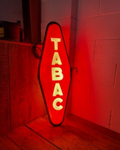 Vintage Illuminated Tabac Sign-7